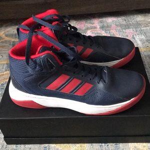Boys Adidas High Top Sneakers
